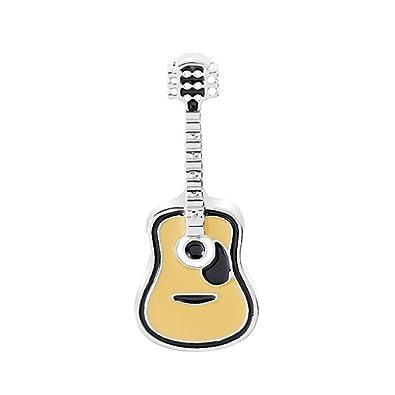 auvwxyz. Broches Moda Salvaje De Dibujos Animados Pequeña Guitarra ...