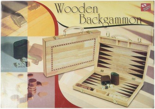 15in Walnut Backgammon Set ()