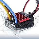 INJORA RC Model Car QUICRUN 1060 60A Waterproof Brushed ESC Speed Controller 6V/3A BEC 1:10 RC Car Parts