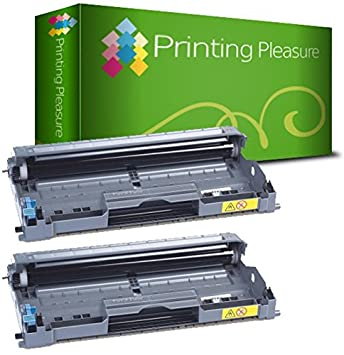 High Yield Black Printing Pleasure DR2005 Drum Unit /& TN2005 Toner Cartridge compatible with Brother HL-2035 HL-2037 HL-2037E