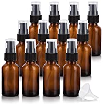 "Measurements: Height - 4.23"" x Diameter - 1.30"". Our amber glass bottles are made of true dark brown amber glass (never painted or treated) and are perfect for storing product (such as essential oils) which are sensitive to degradation from l..."