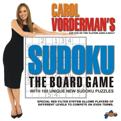 Carol Vorderman's Sudoku - The Board Game by Drumond Park