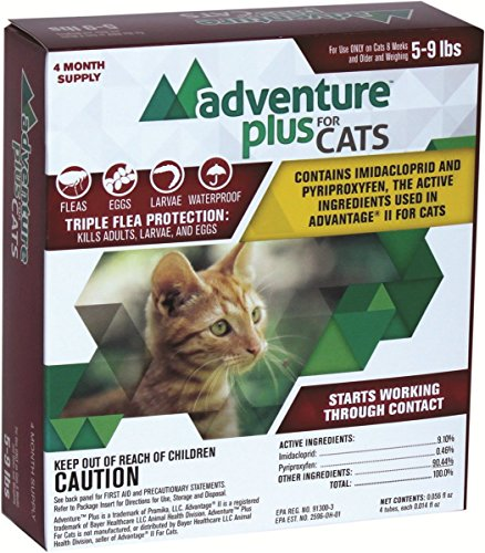 se) CAT (5-9 lbs) - MADE IN THE USA (Revolution Flea Control)