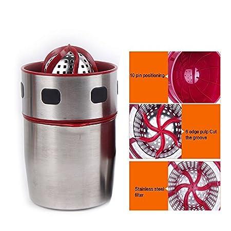 OFKPO Exprimidor Manual de Acero Inoxidable para Naranja y Cítrico, Uso Doméstico Manual Exprimidor para Naranjas: Amazon.es: Electrónica