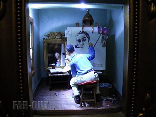 オルショウスキー ノーマン・ロックウェル セルフポートレイト ギャラリー・オブ・ライト ライトアップディスプレイ Olszewski Studios Norman Rockwell シリーズ Gallery of Light