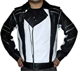 Michael Jackson Pepsi Leather Jacket Black Friday Attire (L)