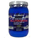 Cheap ALLMAX GLUTAMINE, 100% Pure Japanese Grade Micronized Powder, Dietary Supplement, 1000g