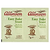 Allinson Easy Bake Yeast (2x7g) - Pack of 6