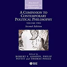 A Companion to Contemporary Political Philosophy Audiobook by Philip Pettit, Robert E Goodin Narrated by Eric Michael Summerer