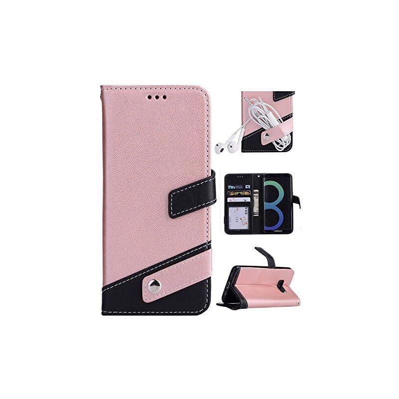 Samsung S8 Case,Galaxy S8 Wallet Case, F