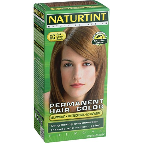 (Naturtint Permanent Hair Colorant 6G Dark Golden Blonde)