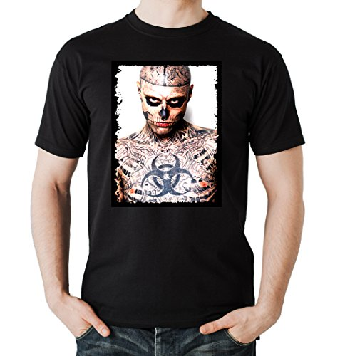 Tattoo Zombie T-Shirt Black Certified Freak