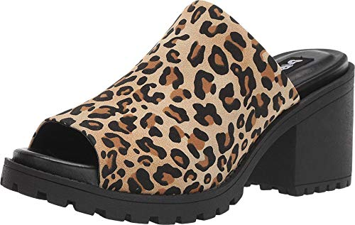 Dirty Laundry by Chinese Laundry Women's FAIR Play Mule, Tan Leopard, 9 M US