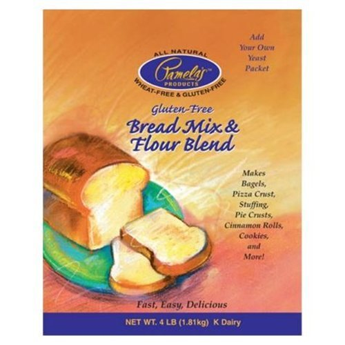 Pamela's Products Amazing Wheat Free & Gluten-free Bread Mix, 4-Pound Bags (Pack of 3) ( Value Bulk Multi-pack) by Pamela's Products