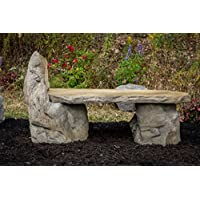 Wondrous Sale Garden Bench Basalt Stone Boulder Bench With Back Cast Frankydiablos Diy Chair Ideas Frankydiabloscom