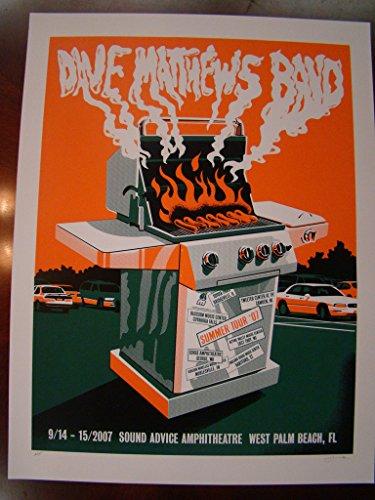 - Dave Matthews Music Poster Dave Matthews Band Methane 2007