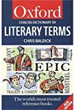 A Concise Dictionary of Literary Terms, Chris Baldick, 019280118X