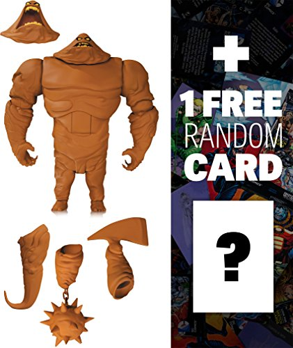 """Clayface: ~7"""" The New Batman Adventures x DC Collectibles Action Figure + 1 FREE Official DC Trading Card Bundle (33787)"""