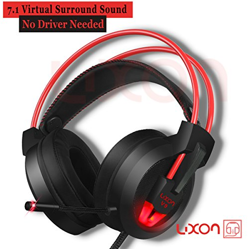 519pAbuwHUL - PC-Gaming-Headset-with-Mic-Virtual-71-Surround-Stereo-Sound-Headphone-50MM-Loudhailer-Gaming-Headphones-with-LED-Light-Over-Ear-USB-Headsets-for-PC-Mac-Laptop-Gamer