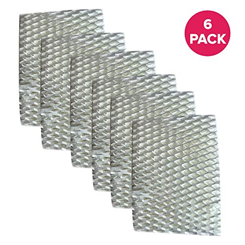 Price comparison product image Think Crucial 6 Replacement for ReliOn WF813 Humidifier Wick Filters Fit RCM832,  RCM-832N,  DH-832 & DH-830,  Compatible With Part WF813