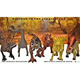 Large 6pack Dinosaurs Set, Life-like and Educational Toy Bundle. Boy and Girl Toys Dinosaur. Some Dinosaurs with ROAR SOUND!!!