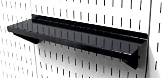 product image for Wall Control Pegboard Shelf 4in Deep Pegboard Shelf Assembly for Wall Control Pegboard and Slotted Tool Board – Black