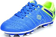 DREAM PAIRS 160471-M Men's Sport Flexible Athletic Lace Up Light Weight Outdoor Cleats Football Soccer S