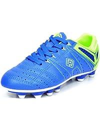 Dream pares Kids Athletic de Lace Up Peso ligero de exterior/interior Running Fútbol Zapatos (Toddler/Little Kid...