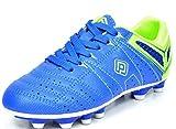 zapatos de football - DREAM PAIRS Men's 160471-M Royal L.Green Cleats Football Soccer Shoes - 8 M US