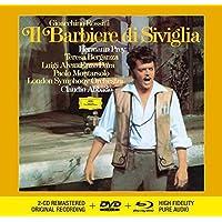 Rossini: Il Barbiere Di Siviglia (Livre-Disque 2CD+DVD+Blu-Ray Audio - Tirage Limité)