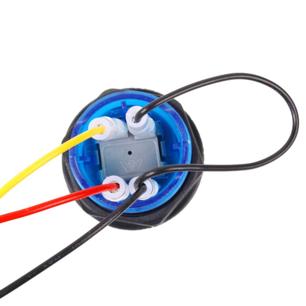 cable de 5 pines + 10 x 3 pines 2,8 mm de cable EG STARTS Zero Demora USB Codificador a PC LED Joystick Set para LED Arcade Joystick DIY Kit Controller parte Mame juegos