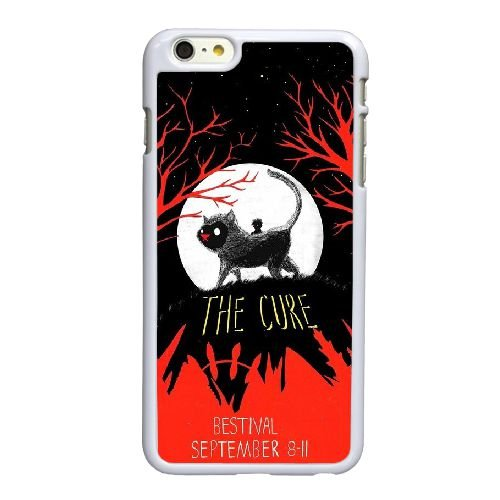 I0L56 The Cure P0M7KS coque iPhone 6 Plus de 5,5 pouces cas de couverture de téléphone portable coque blanche RX6SHJ3CW
