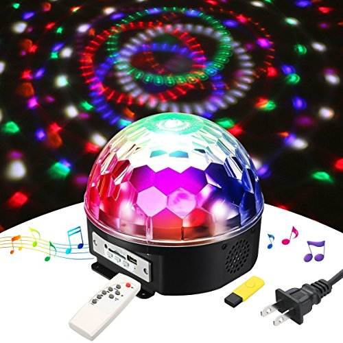 Crystal Magic Ball Led Light in US - 5