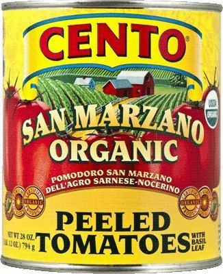 San Marzano Cento Organic Italian Peeled Tomatoes, Case of 4 /28 oz (Solania San Marzano Tomatoes compare prices)