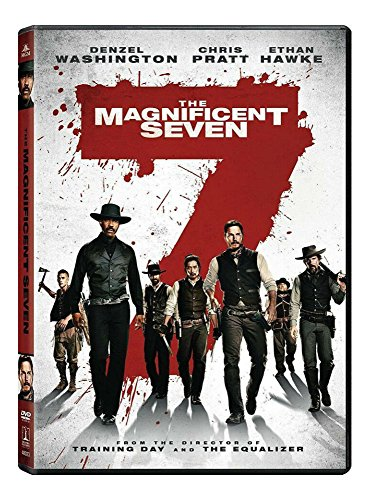 The Magnificent Seven DVDS (2016)BRAND NEW* Action*Adventure*