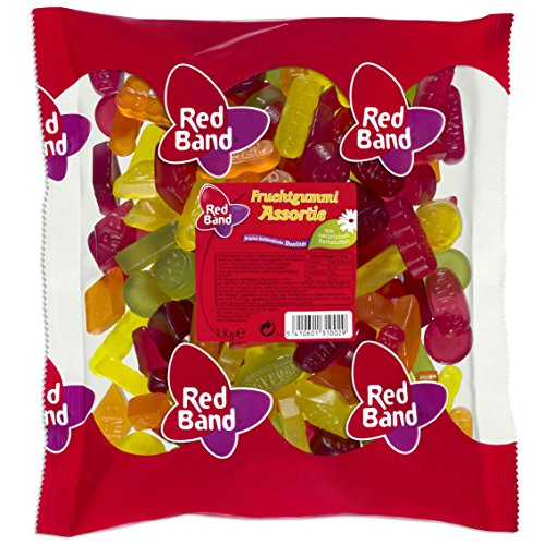 Red Band Winegum Assortment 1 Kilo Bag (2.2 Lbs)