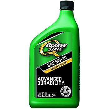 Quaker State Advanced Durability 5W-30 Motor Oil - 1 Quart (Pack of 6)