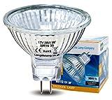 10 LONG LIFE MR16 20w Halogen Bulbs GU5.3 Lamp 12v Halogen with Aluminium Refle