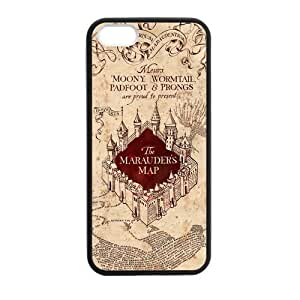 Vintage Marauders Map iPhone 5 5s Cases-Cosica Provide Superior Cases For iPhone 5 5s