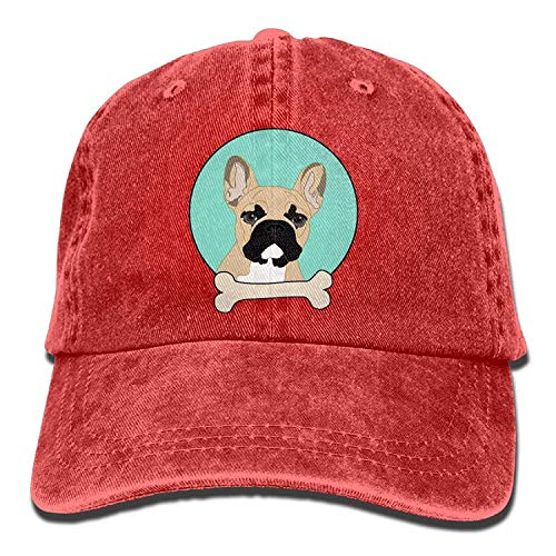 Cowgirl Cap Denim DEFFWB Hats Women Cowboy Skull French Hat Bulldog Sport Men for 0xFFwrXfqn