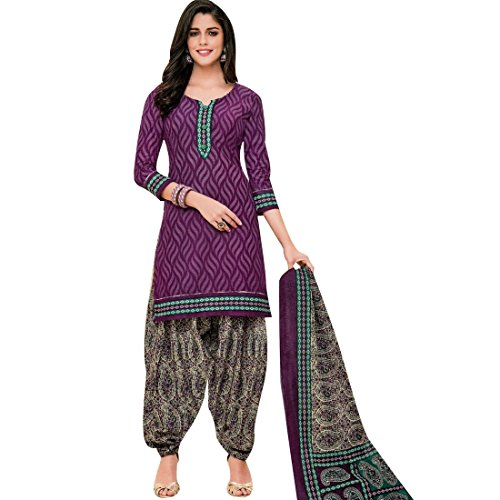 Indian Cotton Salwar Kameez - 1