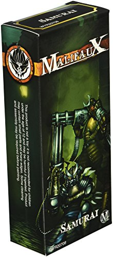 Wyrd Miniatures Malifaux Ten Thunders Samurai Model Kit