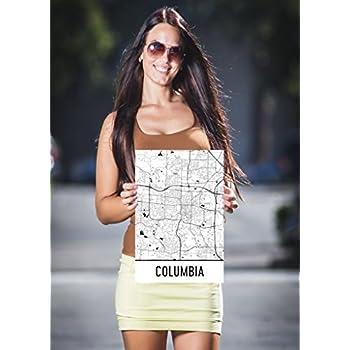Amazon Com Columbia Mo Poster Columbia Mo Art Print