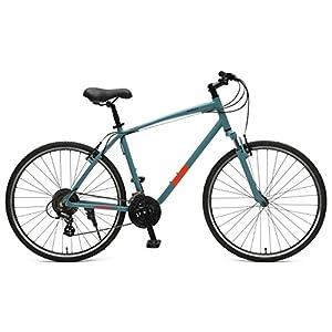 "Retrospec Bicycles Motley Hybrid Bike 21 Speed, Pewter, 20""/Large"