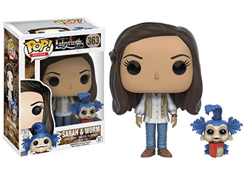 Funko POP Movies: Labyrinth - Sara and Worm Action Figure by Funko