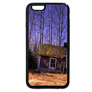 iPhone 6S Plus Case, iPhone 6 Plus Case, crumbling house in a forest