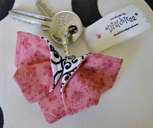 Llavero Mariposa-Origami en tela* Llaveros personalizados ...