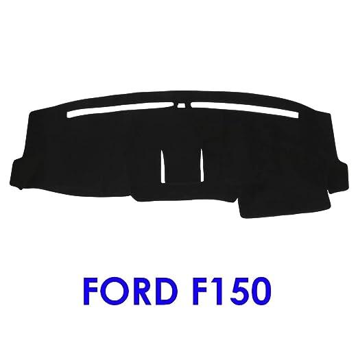 JIAKANUO Auto Car Dashboard Carpet Dash Board Cover Mat Fit Ford F150 2015-2018 Gray MR069