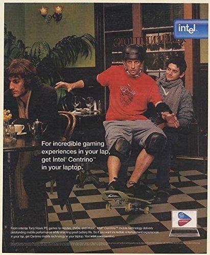 2005-tony-hawk-sitting-on-guys-lap-intel-centrino-print-ad-memorabilia-62777