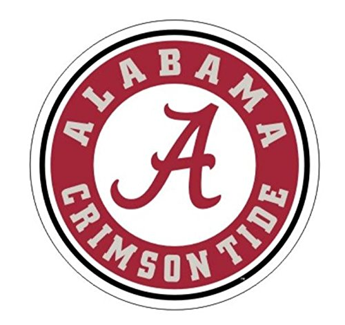NCAA Alabama Crimson Tide Premium Vinyl Decal (4